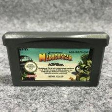 Videojuegos y Consolas: MADAGASCAR NINTENDO GAME BOY ADVANCE GBA. Lote 269685863