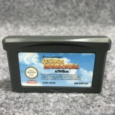 Videojuegos y Consolas: VECINOS INVASORES NINTENDO GAME BOY ADVANCE GBA. Lote 269685873