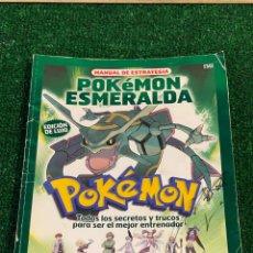 Videojuegos y Consolas: GUÍA POKEMON ESMERALDA NINTENDO GAME BOY ADVANCE GBA. Lote 270095758