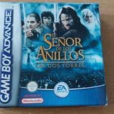 Videojuegos y Consolas: EL SEÑOR DE LOS ANILLOS LAS DOS TORRES GAMEBOY ADVANCE PAL ESPAÑA COMPLETO. Lote 32005825