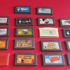 Videojuegos y Consolas: LOTE DE JUEGOS DE NINTENDO GAME BOY ADVANCE. Lote 276130233
