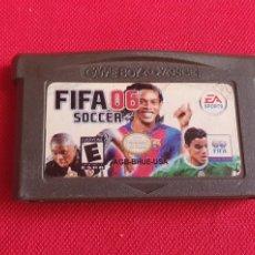 Videojuegos y Consolas: JUEGO FIFA 2006 SOCCER GAME BOY ADVANCE. Lote 276131168