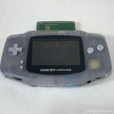Videojuegos y Consolas: CONSOLA GAME BOY ADVANCE - GBA - GRIS TRANSPARENTE - FUNCIONA. Lote 276269343