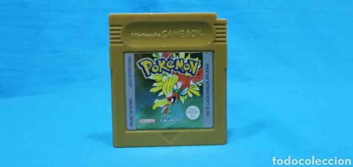JUEGO POKÉMON EDICIÓN ORO - PARA GAME BOY DE NINTENDO (Juguetes - Videojuegos y Consolas - Nintendo - GameBoy Advance)