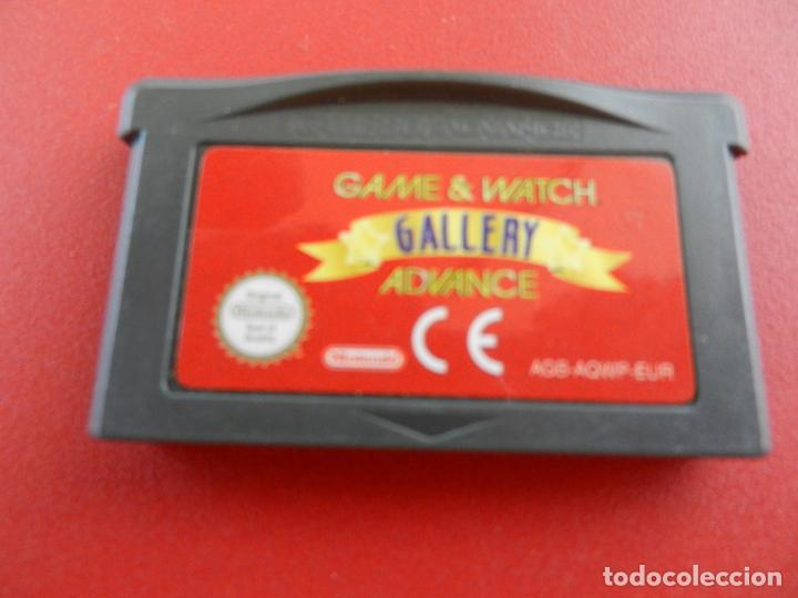 GAME BOY ADVANCE - GAME & WATCH GALLERY ADVANCE - CARTUCHO. (Juguetes - Videojuegos y Consolas - Nintendo - GameBoy Advance)