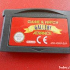 Videojuegos y Consolas: GAME BOY ADVANCE - GAME & WATCH GALLERY ADVANCE - CARTUCHO.. Lote 277520603