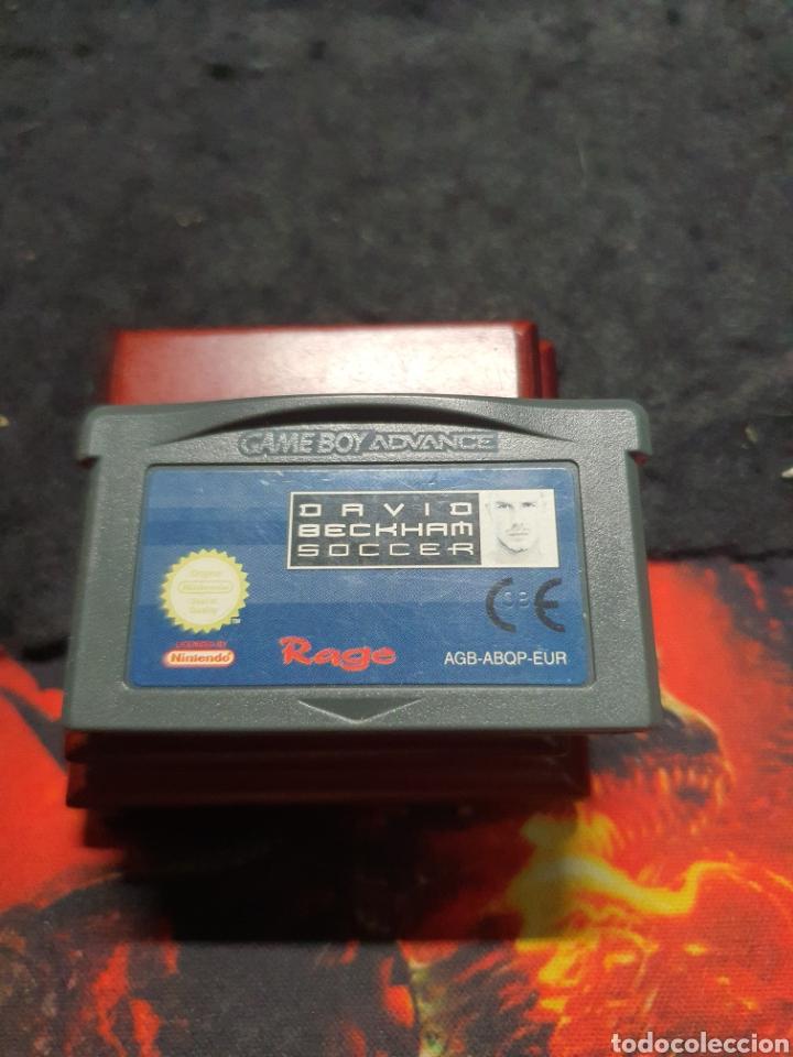 GAMEBOY ADVANCE DAVID BECKHAM SOCCER (Juguetes - Videojuegos y Consolas - Nintendo - GameBoy Advance)
