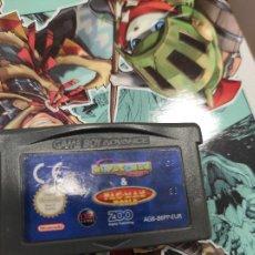 Videojuegos y Consolas: JUEGO GAMEBOY ADVANCE MS PAC MAN & PAC MAN WORLD. Lote 278196543