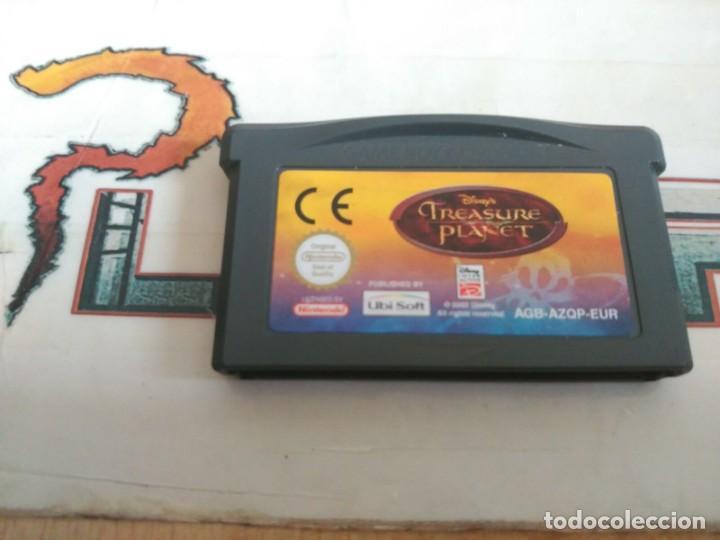 NINTENDO GAME BOY ADVANCE GBA DISNEY PLANETA DEL TESORO SOLO CARTUCHO PAL EUR (Juguetes - Videojuegos y Consolas - Nintendo - GameBoy Advance)
