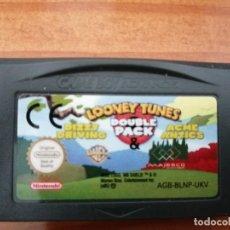 Videojuegos y Consolas: LOONEY TUNES DOUBLE PACK, CARTUCHO SUELTO, GAME BOY ADVANCE. Lote 284467203