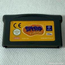 Videojuegos y Consolas: VIDEOJUEGO NINTENDO - GAMEBOY ADVANCE - SPYRO FUSION - EUR. Lote 286958448