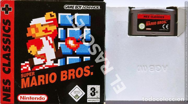 JUEGO SUPER MARIO BROS NES CLASSICS GAME BOY ADVANCE (Juguetes - Videojuegos y Consolas - Nintendo - GameBoy Advance)