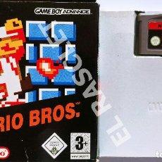 Videojuegos y Consolas: JUEGO SUPER MARIO BROS NES CLASSICS GAME BOY ADVANCE. Lote 286958768