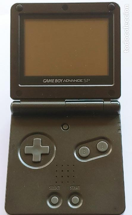 GAME BOY ADVANCE SP - NINTENDO MOD.AGS 001 - AÑO 2002 - COLOR NEGRO NUEVA EN PERFECTO ESTADO (Juguetes - Videojuegos y Consolas - Nintendo - GameBoy Advance)