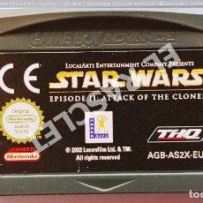 Videojuegos y Consolas: CARTUCHO JUEGO NINTENDO GAME BOY ADVANCE - STAR WARS - EPISODIO II : ATACK OF THE CLONES. Lote 287083658