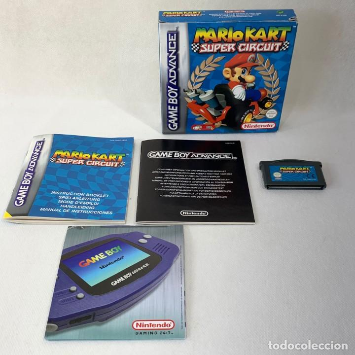 VIDEOJUEGO NINTENDO GAME BOY ADVANCE - SUPER MARIO KART - SUPER CIRCUIT - COMPLETO (Juguetes - Videojuegos y Consolas - Nintendo - GameBoy Advance)
