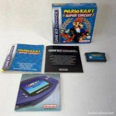 Videojuegos y Consolas: VIDEOJUEGO NINTENDO GAME BOY ADVANCE - SUPER MARIO KART - SUPER CIRCUIT - COMPLETO. Lote 287229478