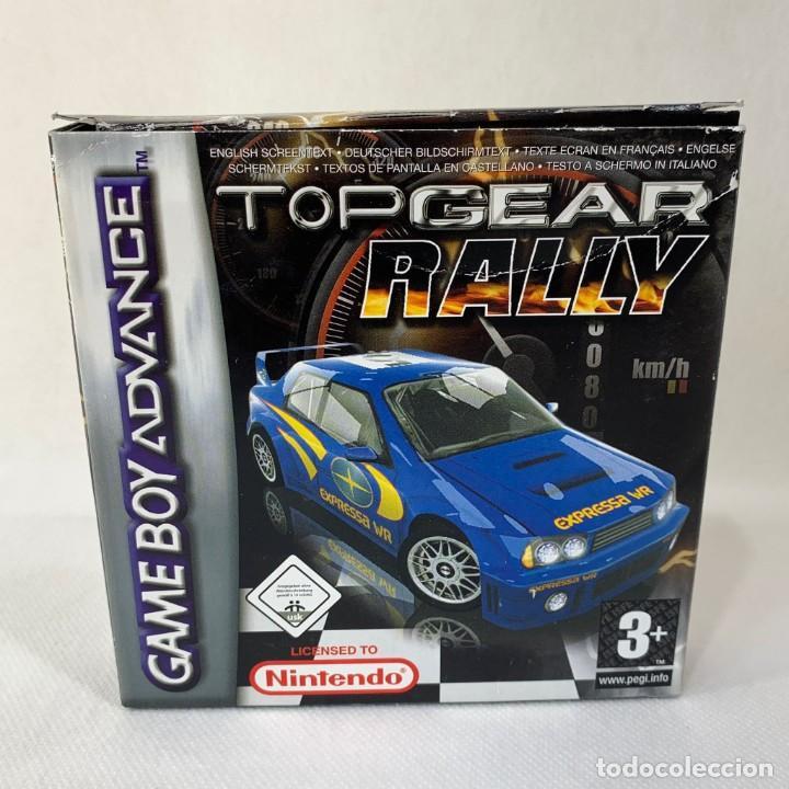 VIDEOJUEGO NINTENDO GAME BOY ADVANCE - TOP GEAR RALLY + CAJA (Juguetes - Videojuegos y Consolas - Nintendo - GameBoy Advance)