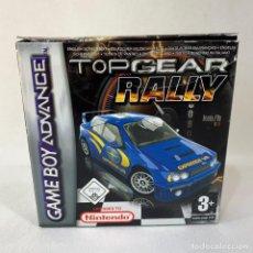 Videojuegos y Consolas: VIDEOJUEGO NINTENDO GAME BOY ADVANCE - TOP GEAR RALLY + CAJA. Lote 287229873