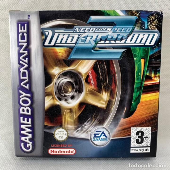 VIDEOJUEGO NINTENDO GAME BOY ADVANCE - NEED FOR SPEED UNDERGROUND 2 + CAJA (Juguetes - Videojuegos y Consolas - Nintendo - GameBoy Advance)