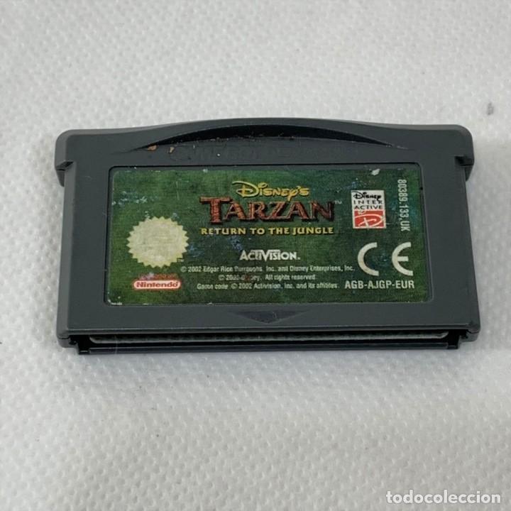 VIDEOJUEGO NINTENDO - GAME BOY ADVANCE - TARZAN RETURN TO THE JUNGLE - ACTIVISION - EUR (Juguetes - Videojuegos y Consolas - Nintendo - GameBoy Advance)