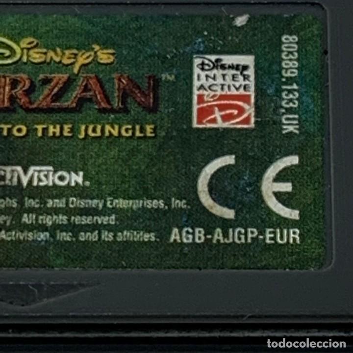 Videojuegos y Consolas: VIDEOJUEGO NINTENDO - GAME BOY ADVANCE - TARZAN RETURN TO THE JUNGLE - ACTIVISION - EUR - Foto 2 - 287460253