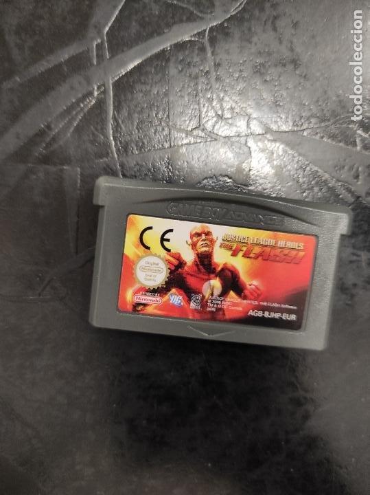 JUSTICE LEAGUE HEROES ( THE FLASH ) - GAMEBOY ADVANCE - (Juguetes - Videojuegos y Consolas - Nintendo - GameBoy Advance)