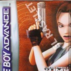 Videojogos e Consolas: JUEGO GAME BOY ADVANCE DE : LARA CROFT TOMB RAIDER THE PROPHECY. Lote 290695198