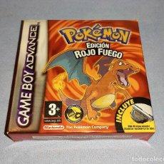 Videojuegos y Consolas: JUEGO POKEMON EDICION ROJO FUEGO NINTENDO GAME BOY ADVANCE TODO ORIGINAL. Lote 292611643