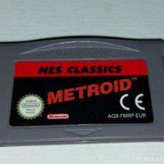 Videojogos e Consolas: NES CLASSICS METROID GAMEBOY ADVANCE. Lote 293589163