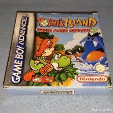 Videojogos e Consolas: JUEGO YOSHI'S ISLAND SUPER MARIO ADVANCE 3 NINTENDO GAME BOY ADVANCE TODO ORIGINAL. Lote 293619963