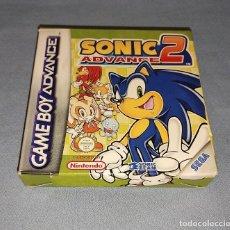Videojuegos y Consolas: JUEGO SONIC ADVANCE 2 NINTENDO GAME BOY ADVANCE TODO ORIGINAL. Lote 293620888