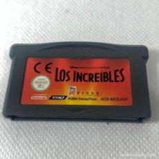 Videojuegos y Consolas: VIDEOJUEGO NINTENDO - GAMEBOY ADVANCE - LOS INCREÍBLES - ESP. Lote 293716893