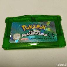 Videojuegos y Consolas: POKEMON EDICION ESMERALDA ( GAMEBOY ADVANCE - ESP) 100% ORIGINAL. Lote 293805288