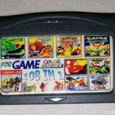 Videojuegos y Consolas: CARTUCHO 108 EN 1 NINTENDO GAME BOY ADVANCE (SUPER PIKA LAND POWER RANGERS WORLD BOWLING SAIUUKI). Lote 294087328