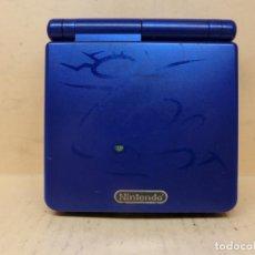 Videojuegos y Consolas: NINTENDO GAMEBOY ADVANCE SP KYOGRE EDICIÓN POKEMON ZAFIRO AGS-001. Lote 294857998