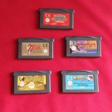 Videojuegos y Consolas: LOTE DE JUEGOS NINTENDO GAME BOY ADVANCE SIN PROBAR. Lote 295046663