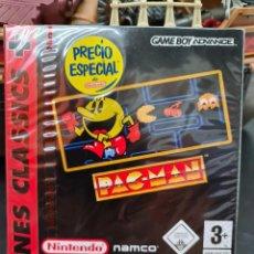 Videojuegos y Consolas: PAC-MAN NINTENDO NAMCO -NES CLASSIC - GAME BOY ADVANCE NUEVO A ESTRENAR. Lote 296852903