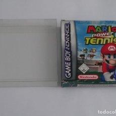 Videojuegos y Consolas: NINTENDO GAME BOY ADVANCE - MARIO POWER TENNIS ED. ESPAÑOLA + FUNDA PROTECTORA PARA CAJA. Lote 296890053