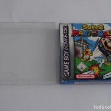 Videojuegos y Consolas: NINTENDO GAME BOY ADVANCE - SUPER MARIO BALL ED. ESPAÑOLA + FUNDA PROTECTORA PARA CAJA. Lote 296890293