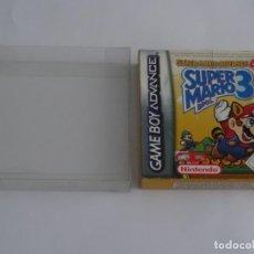 Videojuegos y Consolas: NINTENDO GAME BOY ADVANCE - SUPER MARIO ADVANCE 4 BROS 3 ED. ESPAÑOLA + FUNDA PROTECTORA PARA CAJA. Lote 296890938