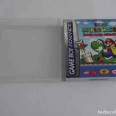 Videojuegos y Consolas: NINTENDO GAME BOY ADVANCE - SUPER MARIO ADVANCE 2 WORLD ED. ESPAÑOLA + FUNDA PROTECTORA PARA CAJA. Lote 296891293