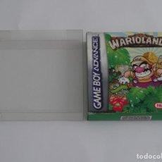 Videojuegos y Consolas: NINTENDO GAME BOY ADVANCE - WARIOLAND 4 ED. ESPAÑOLA + FUNDA PROTECTORA PARA CAJA. Lote 296892533