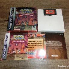 Videojuegos y Consolas: NINTENDO GAMEBOY ADVANCE POKÉMON MUNDO MISTERIOSO PAL ESP COMPLETO. Lote 297003118