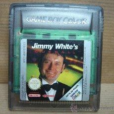 Videojuegos y Consolas: VIDEO JUEGO NINTENDO GAME BOY COLOR - JIMMY WHITE´S . Lote 25369423