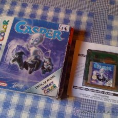 Videojuegos y Consolas: CASPER PARA NINTENDO GAMEBOY COLOR COMPLETO - GAME BOY GB GBC. Lote 26532843