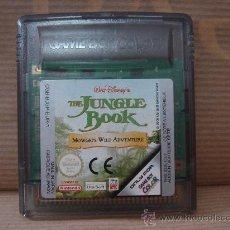 Videojuegos y Consolas: VIDEO JUEGO NINTENDO - GAME BOY COLOR - THE JUNGLE BOOK . Lote 27427246