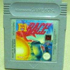 Videojuegos y Consolas: F1 RACE, NINTENDO, GAME BOY, GAMEBOY, JUEGO. Lote 27496188