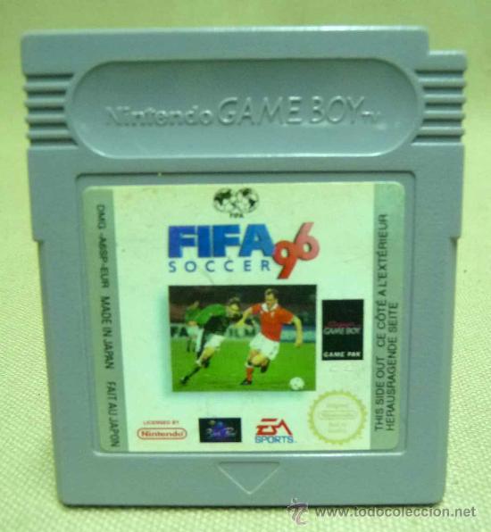FIFA 96, NINTENDO, GAMEBOY, GAME BOY, JUEGO (Juguetes - Videojuegos y Consolas - Nintendo - GameBoy Color)