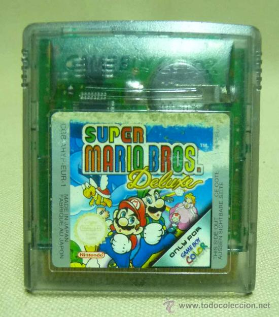 Super Mario Bros Deluxe Game Boy Color Gamebo Comprar